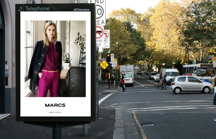 MC AW13 outdoor ad